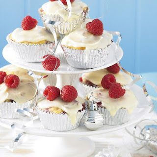 Raspberry and Turkish Delight Cupcakes