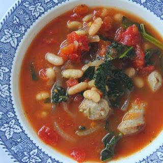 {RECIPE} Tuscan Kale, Sausage and White Bean Soup