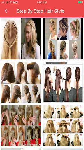 Girls Hairstyle Step by Step  screenshots 11