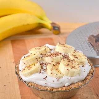 Banana Coconut Cream Mini Pies