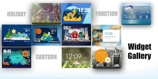 Astronaut weather widget/clock|玩個人化App免費|玩APPs