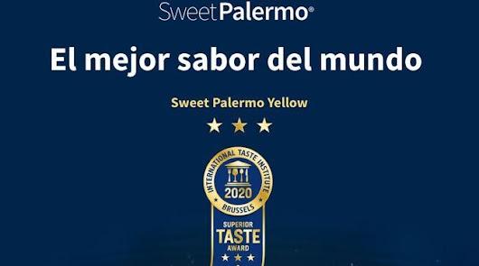 El pimiento Sweet Palermo Amarillo, distinguido como el Superior Taste Award