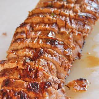 Pork Tenderloin with Pan Sauce.