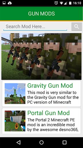 免費下載娛樂APP GUN MODS對於MCPE app開箱文 APP開箱王