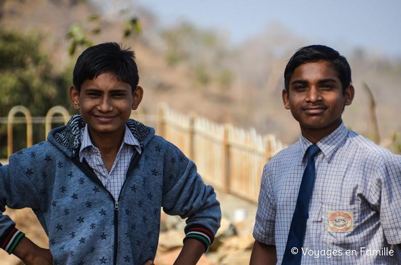 Lycéens Kumbhalgarh