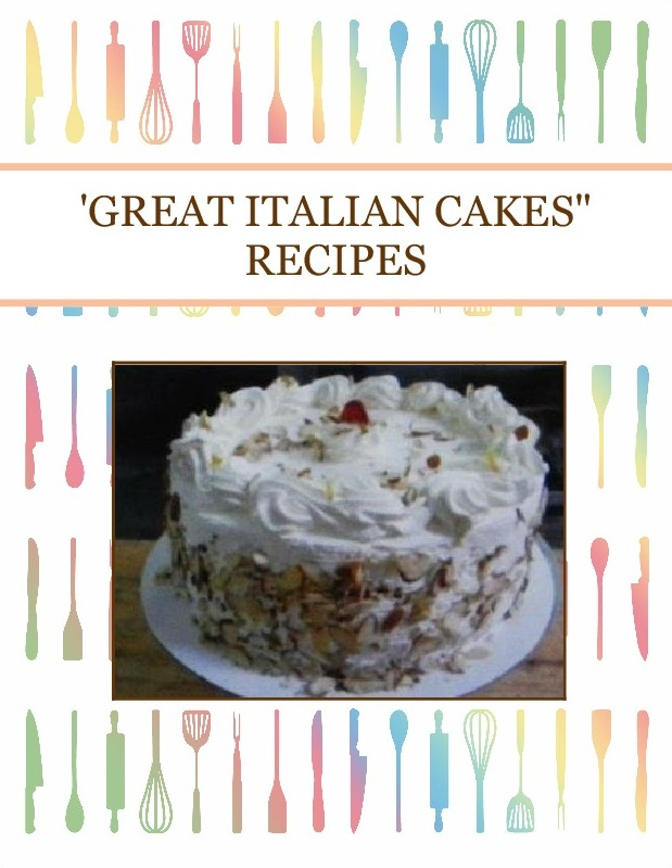 "'GREAT ITALIAN CAKES"" RECIPES"