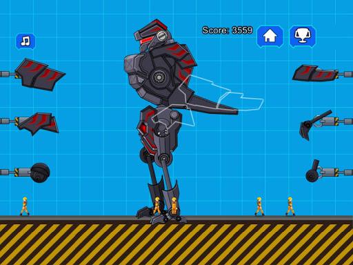 Robot Dinosaur Black T-Rex 2.5 screenshots 6