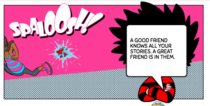 beano dennis the menace quote funny
