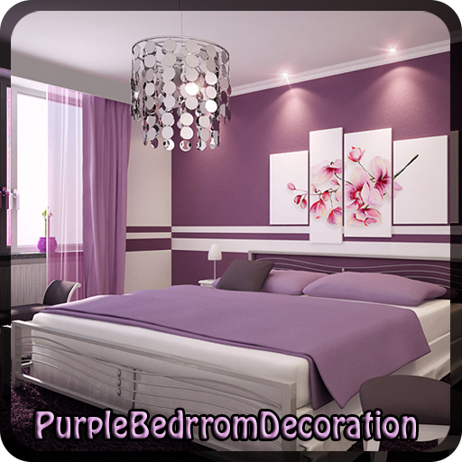 Purple Bedroom Decoration