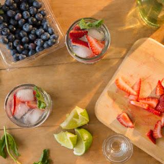 Strawberry Kombucha Cooler