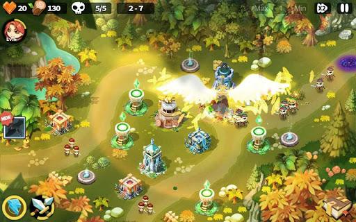Hero Defense King 1.0.21 screenshots 1