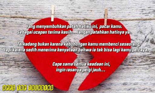 Download Kumpulan Kata Kata Patah Hati Galau Karena Cinta