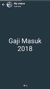 Tarikh Gaji 2018 - náhled