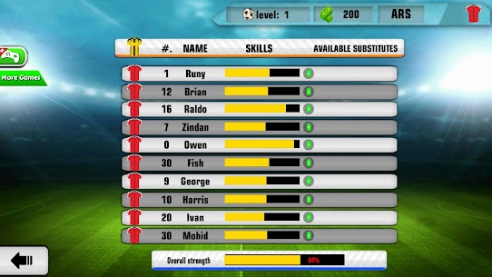 Soccer League Manager 2020: Football Stars Clash Mod Apk Download For Android 2