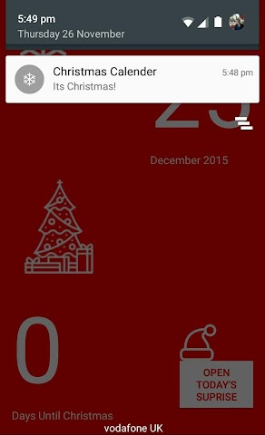 android Christmas Calendar 2015 Screenshot 3