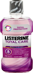 Listerine Total Care Mouthwash - Clear Mint, 250ml