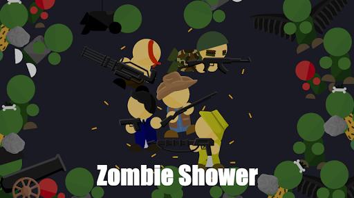Télécharger Zombie Shower - Shoot Zombies and Survive! APK MOD (Astuce) screenshots 1