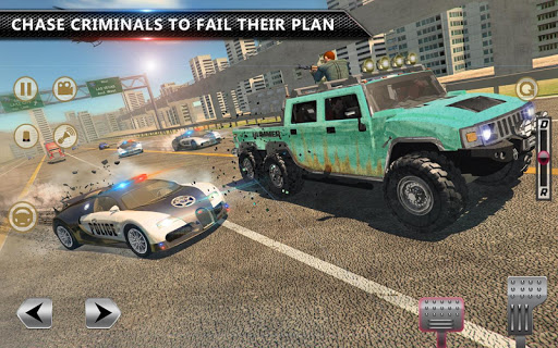 Cop Chase - Police Car Drifting Simulator 2018  screenshots 2