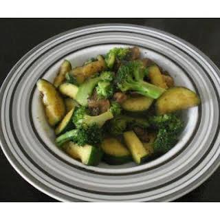 Zucchini, Broccoli and Mushroom Medley.
