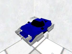 ガトリング付き装甲車