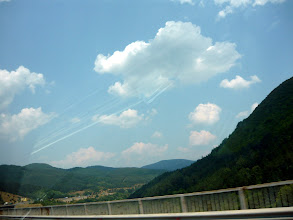 Photo: On the road traveling to north central Bulgaria...