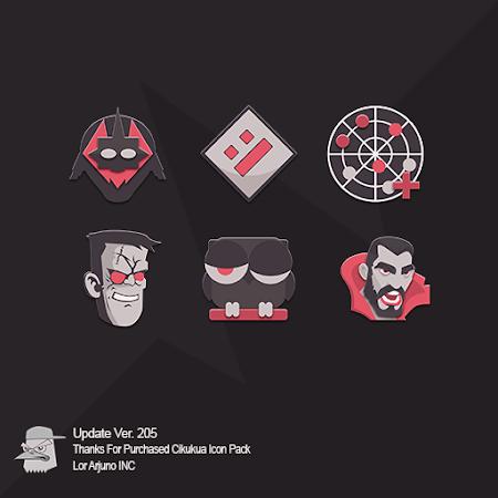 Cikukua Icon Pack v2.0.5