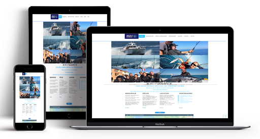 Site web bleucamargue.com