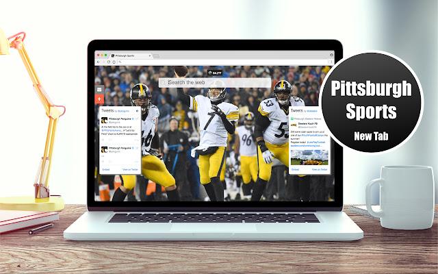 *NEW* HD Pittsburgh Sports New Tab Theme
