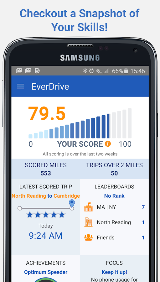EverDrive™ - Safe Driving- screenshot