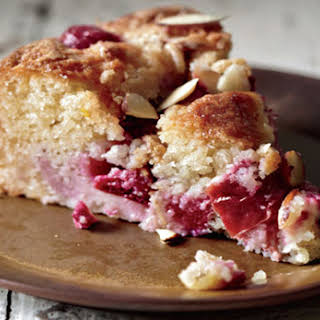 Plum Almond Cake.