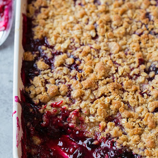 Triple Berry Crisp.