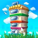 Pocket Tower: Building Game & Megapolis Kings icon