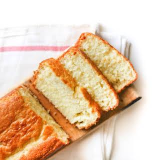 Vanilla Yogurt Cake.