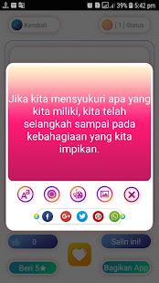 Download Status WA Kekinian ~ Status WA Keren For PC Windows and Mac apk screenshot 5