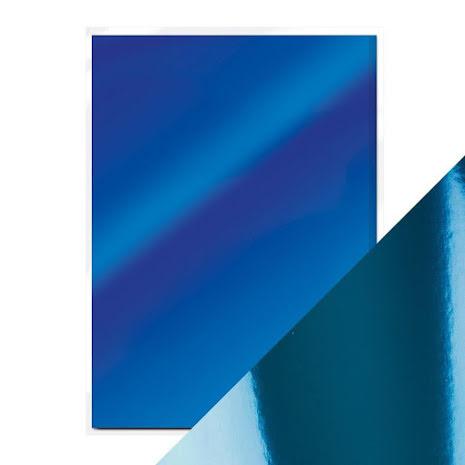 Tonic Studios Craft Perfect Mirror Card A4 250gm - Imperial Blue 9443E