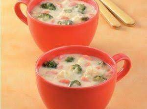 Cheese And Vegetable Soup Recipe