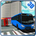 Crazy Bus Crash Driver Race 3D icon