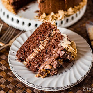 Reese's Chocolate Peanut Butter Cake.