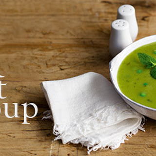 Pea And Mint Soup.