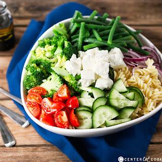 Easy Veggie Pasta Salad