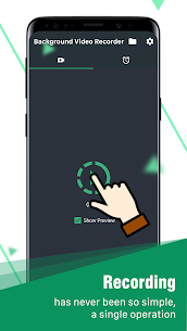 background video recorder App Download For Android 9