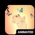 Playful Dog Animated Keyboard + Live Wallpaper APK