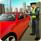 Traffic police officer traffic cop simulator 2018 icon