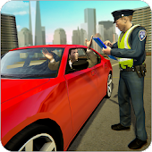 Traffic police officer traffic cop simulator 2018