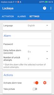 Download Lockeye : Wrong password alarm & Intruder selfie App For Android 3