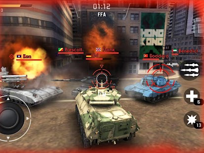 Tank Strike - battle online- screenshot thumbnail