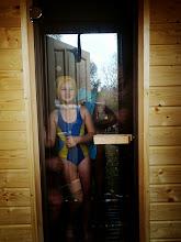 Photo: W saunie....