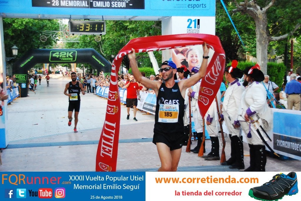 atleta del Gaes Running Team DAVID APARICIO FUENTES