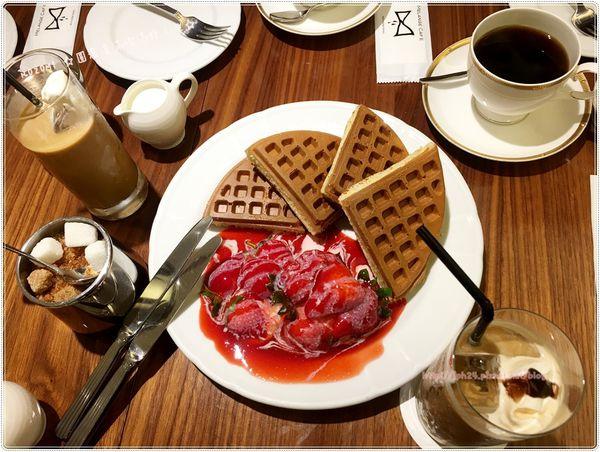 米朗琪咖啡館 ,好吃視覺系鬆餅長青樹,還有型男沖咖啡