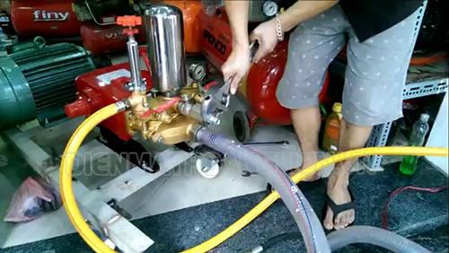 Lưu ý khi lắp máy rửa xe mini
